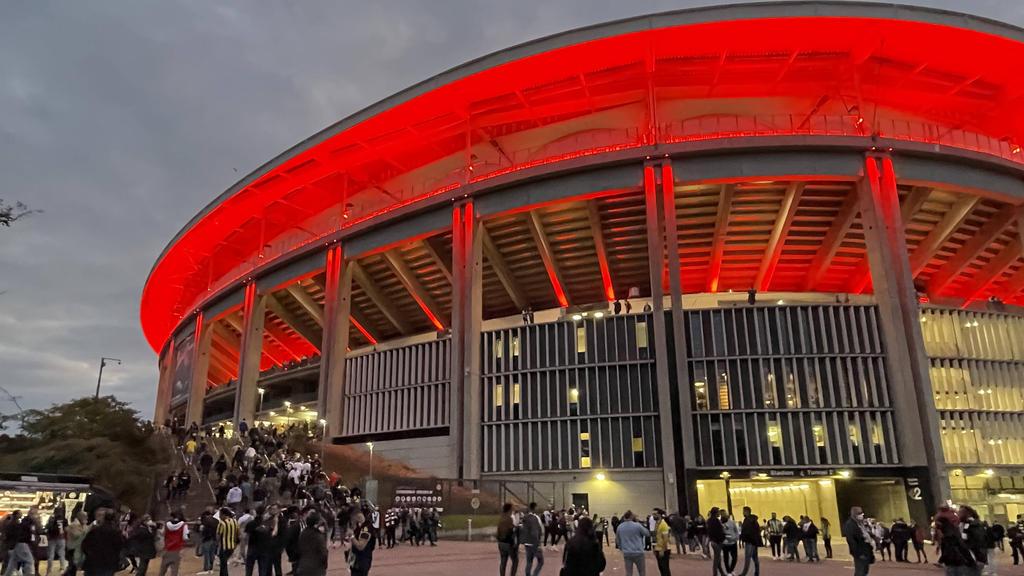 Eintracht Frankfurt wird keine 31.000 Fans im Stadion begrüßen dürfen