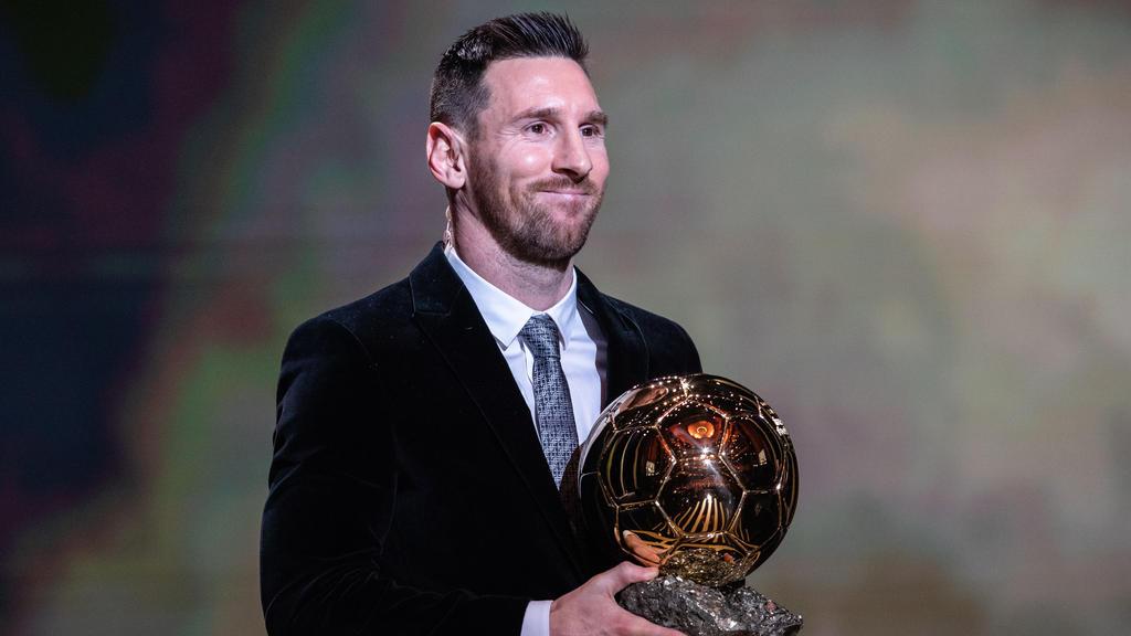Messi ist mit sechs Trophäen Rekord-Gewinner des Ballon d'Or