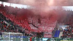 Die Bayern-Fans wollen ihre Mannschaft in Budapest unterstützen