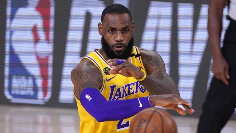 LeBron James und die Lakers stehen kurz vor dem Einzug ins Conference Final