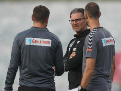 Ried-Coach Gerald Baumgartner muss einen weiteren Spieler aufgrund einer Infektion vorgeben