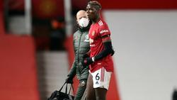 Paul Pogba muss pausieren