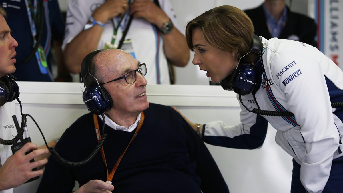 Frank Williams führte das Williams-Team von 1977 an