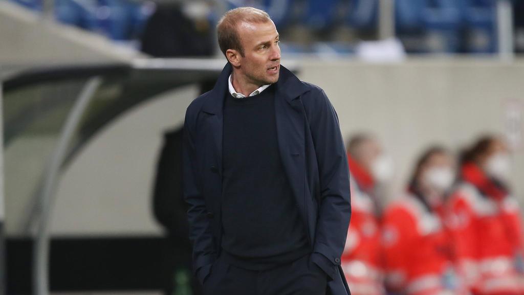 Sebastian Hoeneß hat sich gegen Wolfsburg einiges mit seiner TSG vorgenommen