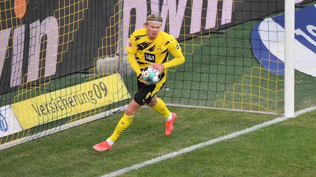 BVB: Haaland-Ausstiegsklausel viel höher als erwartet - sport.de