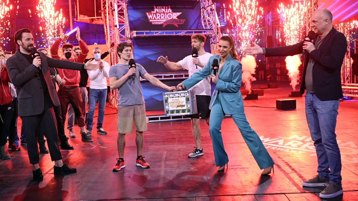 Kim Marschner triumphiert bei Ninja Warrior Allstars