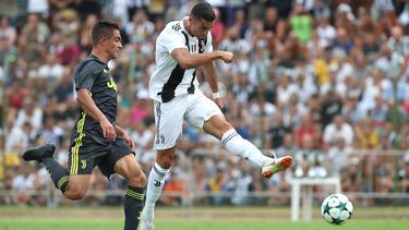 Ronaldo traf im ersten Spiel für Juve zum ersten Mal