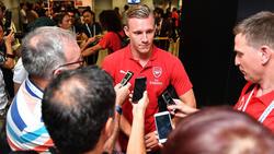 Bernd Leno musste im ersten Saisonspiel des FC Arsenal auf die Bank