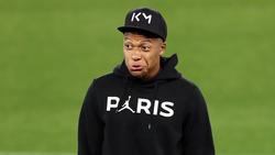 Mbappe im neuen PSG-Outfit für die CL