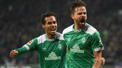 Mit Joker Martin Harnik (re.) wurde der Werder-Sieg eingewechselt