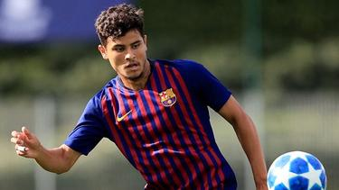 Lucas de Vega soll von mehreren Topklub umworben werden (Bildquelle: Instagram)