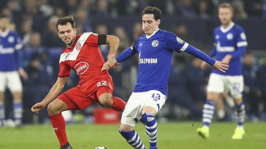 Fc Schalke 04 Gegen Fortuna Düsseldorf Live Schalker Debakel Gegen