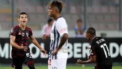 Ferreira marcó el empate en Lima en el minuto 96. (Foto: Getty)