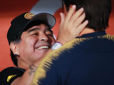 Maradona quiere llevar a los Dorados a la máxima competición. (Foto: Getty)