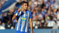 Marko Grujic wird zum zweiten Mal vom FC Liverpool nach Berlin ausgeliehen