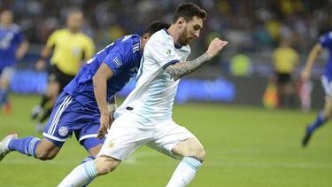 Steht mit Argentinien bei der Copa América vor dem Aus: Lionel Messi