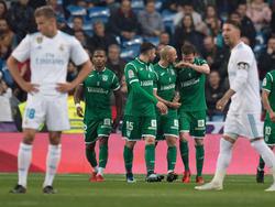 El Leganés fue el verdugo del Madrid en la pasada edición. (Foto: Getty)