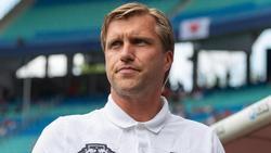 Markus Krösche sieht RB Leipzig auf dem richtigen Weg