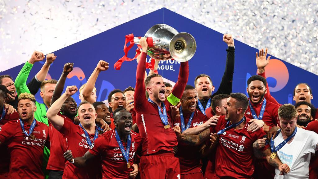 Der FC Liverpool gewann die Champions League in der letzten Saison