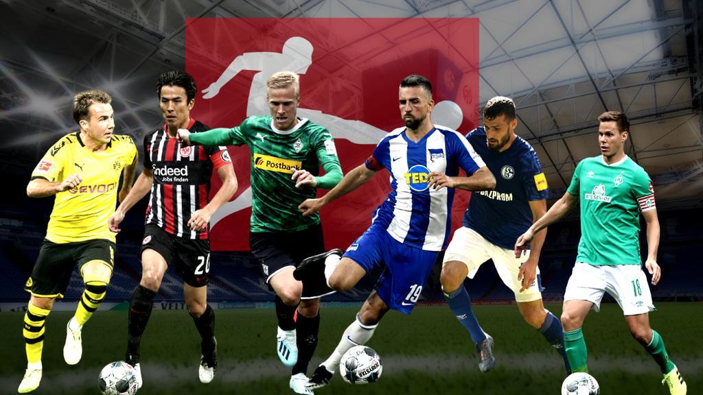 Mario Götze (l.) ist einer von vielen Bundesliga-Stars, deren Vertrag im Sommer ausläuft