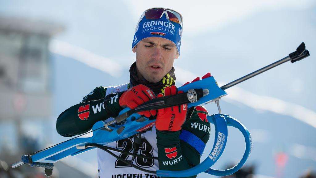 Simon Schempp hatte im Sprint nur den 32. Platz belegt