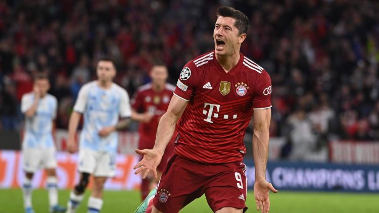 Robert Lewandowski wird mit einem Abschied vom FC Bayern in Verbindung gebracht