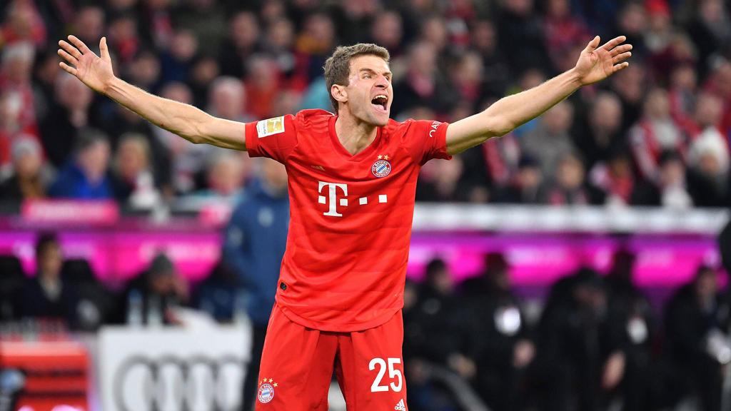 Thomas Müller gab sich nach dem 0:0 zwischen dem FC Bayern und RB Leipzig selbstkritisch
