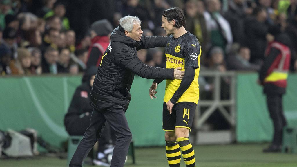 Nico Schulz (r.) kommt beim BVB noch nicht in Tritt