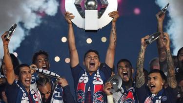 Wegen des vorzeitigen Saisonabbruchs wurde Paris Saint-Germain erneut zum Meister in Frankreich erklärt.