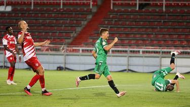 Hannover 96 zieht in die 2. Runde des DFB-Pokals ein