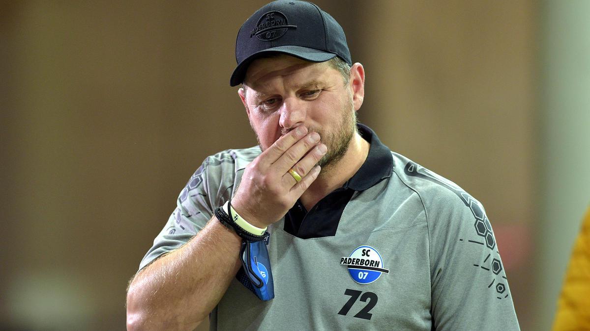 Paderborn-Coach Baumgart kann nicht ganz zufrieden sein