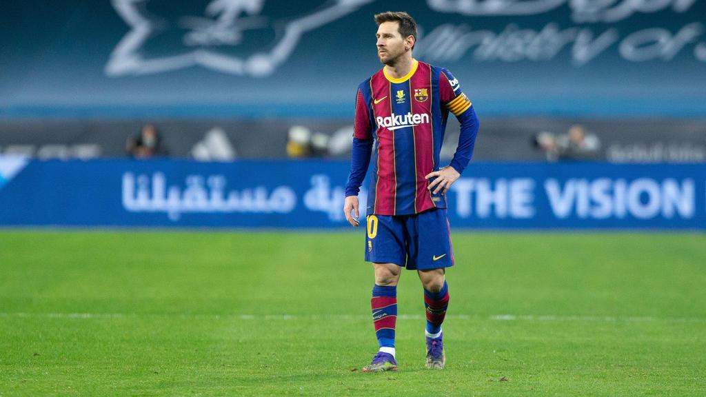 Lionel Messi wurde für zwei Spiele gesperrt