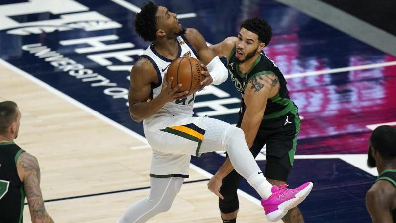 Auch die Boston Celtics unterlagen gegen Utah Jazz