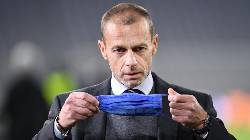 UEFA-Boss Aleksandar Ceferin