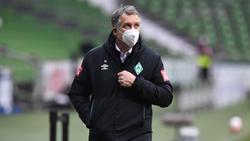 Werders Geschäftsführer Frank Baumann muss wohl weiter nach einem Trainer suchen
