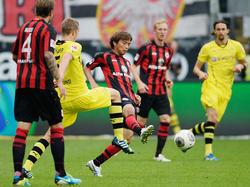 Frankfurt gegen Dortmund wird im Free-TV gezeigt