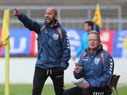 Murat Salar (l.) und Uwe Fecht müssen beim KFC Uerdingen die Koffer packen