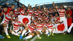 Japan feiert historischen Erfolg