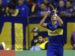 Pavón venció al portero Silva con un remate cruzado. (Foto: Imago)
