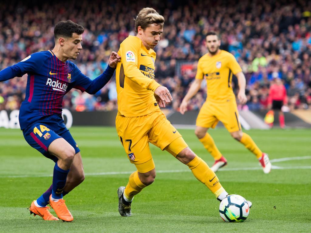 Antoine Griezmann steht vor einem Wechsel zum FC Barcelona
