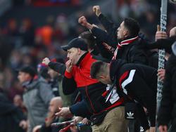 Massenschlägerei zwischen Fans an der BayArena