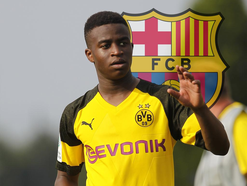 BVB-Youngster Youssoufa Moukoko steht offenbar auf dem Zettel des FC Barcelona