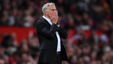 José Mourinho ist bei den Fans von Manchester United nicht unumstritten