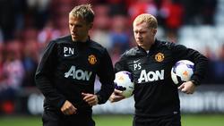 Paul Scholes (r.) spielte von 1993 bis 2013 selbst für Manchester United