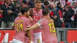 Der 1. FC Köln ballert sich mit einem 8:1 gegen Dresden aus der Mini-Krise