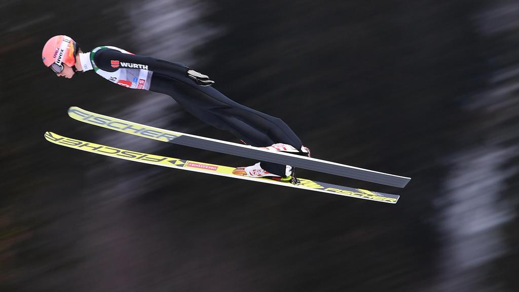 Die deutschen Skispringer kamen in Zakopane nicht auf die gewünschte Weite
