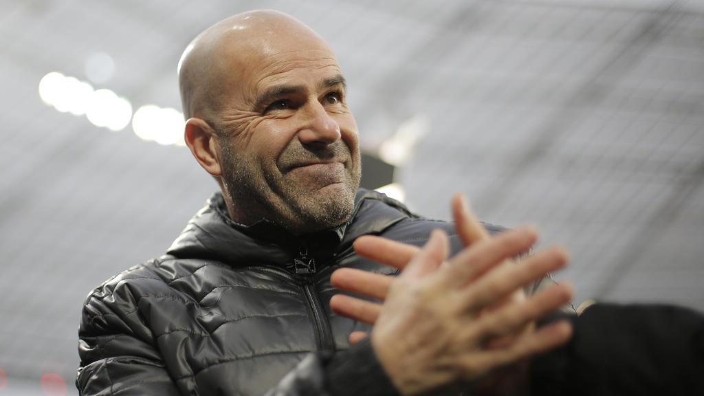 Peter Bosz feierte seinen ersten Sieg als Bayer-Trainer