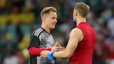 Marc-André ter Stegen will Manuel Neuer aus dem DFB-Tor verdrängen