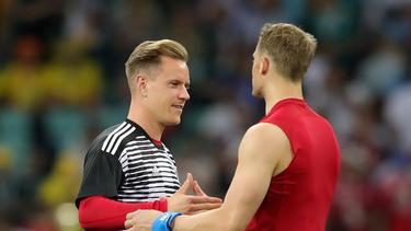 Marc-André ter Stegen und Manuel Neuer kämpfen um den Platz im deutschen Tor