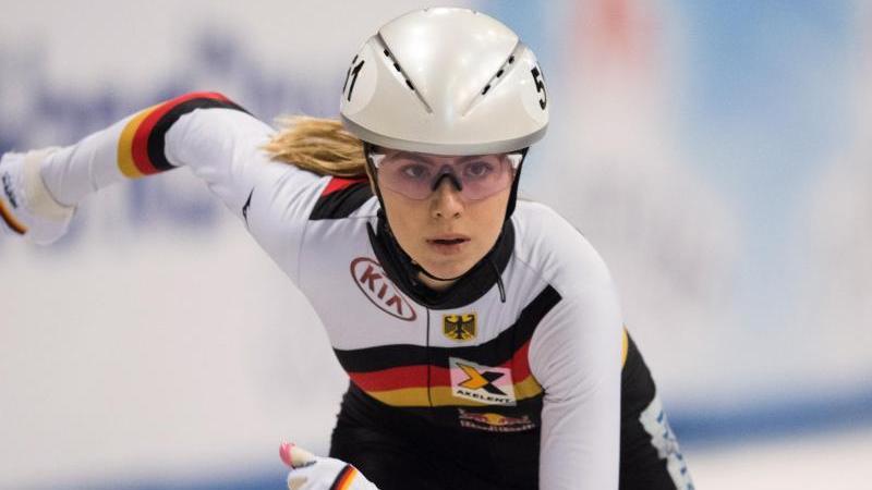 Anna Seidel wurde über 1500 Meter in Turin Dritte